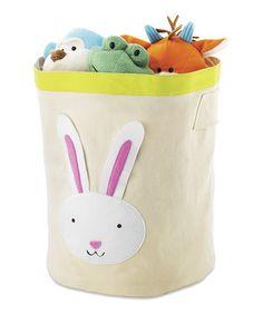 Bunny Storage Bin by Whitmor  #zulilyfinds