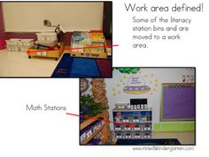 Clearly define work stations and activities