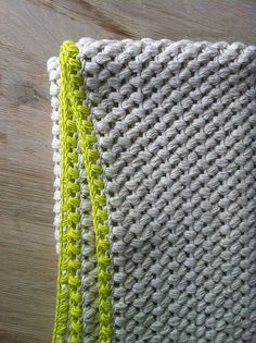 "Baby blanket #crochetgeekery - I think this is ""puff stitch"" and I need to figure out how to do that!"