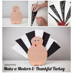 modern-thankful-turkey - Modern parents Messy Kids