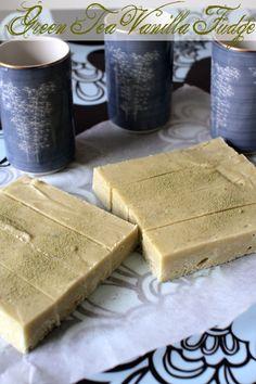 Gluten Free Vanilla Green Tea fudge