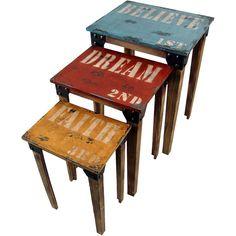 3 Piece Kylie Nesting Table Set