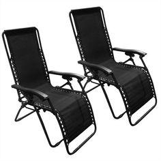 Set of 2 Zero Gravity Chairs : $64.99 + Free S/H (reg. $159.95)
