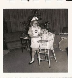 Nothing short of completely adorable! nurse vintage hospital1950s
