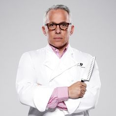 I have a crush on him - Winner of Iron Chef Super Chefs - Geoffrey Zakarian!