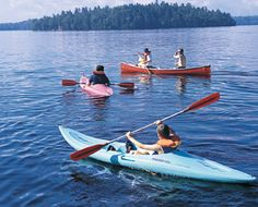 Canoes, Kayaks, Pedal Boats, Stand-Up Paddleboards - All FREE