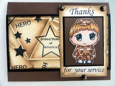 www.inspiredstamps.blogspot.com; soldier card; using Inspired Stamps