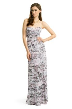 Rent the Runway - BCBGMAXAZRIA Feminine Floral Gown