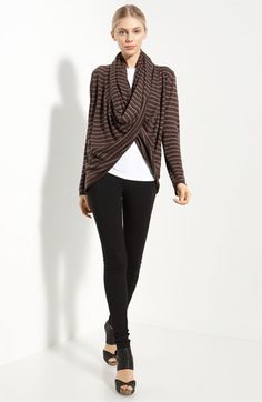 $295. Alice + Olivia wool and cashmere sweater. Sew your own using Butterick 5563.