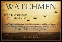 Ezekiel 33:6 - The r