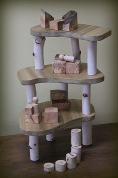 Tree House Building Set with Tree Blocks