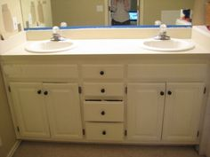 DIY painting laminate countertops