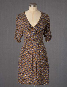 I've spotted this @BodenClothing Gathered Band Tunic Burnt Gold Trailing Orchid