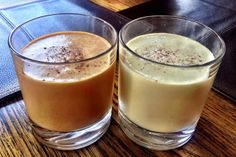 Holiday Egg Nog, Low Carb    sub unsweetened almond, coconut, or soy milk to knock out more carbs!