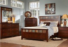 Medford Lakes 5 Pc Queen Bedroom at Rooms To Go.
