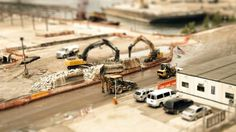 The Sandpit by Sam O'Hare. A day in the life of New York City, in miniature.