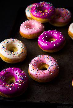 Baked Vanilla Bean Doughnuts   Cooking Classy