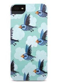 Bluebird iPhone case by Elizabeth Foster