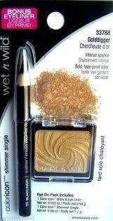 Wet N Wild Coloricon 33788 Golddigger Eyeshadow, Brow & Eye Liner