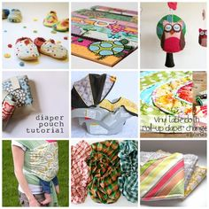 20 Great Baby Items and Gear to Make   http://toyspark.blogspot.com