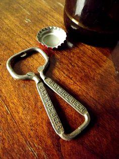 Vintage Eastside Beer Bottle Opener by salvagedyard on Etsy, $8.00