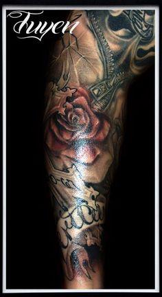 Religious Sleeve Tattoos For Men
