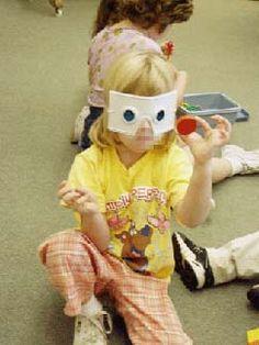 Activity ideas for all five senses