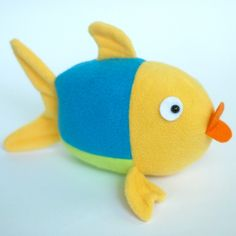 DIY Stuffed Fish Softie - FREE Sewing Pattern and Tutorial