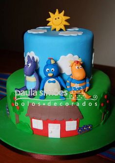 Backyardigans by The Cake is on the Table, via Flickr