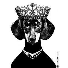 'Ulrika Elenora' A3 Poster By Lisa Bengtsson