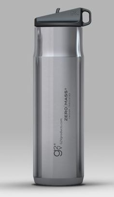 Vacuum insulated bottles are absolutely unbeatable for performance insulation. G2V's  Zero Mass™ bottles combine 304 stainless steel, scintillating design, and vacuum technology into one sleek bottle.    Like G2V's single wall bottles, the Zero Mass™ bottles are narrow in diameter for easy holding, and come standard with their performance sport lid.    $32.99