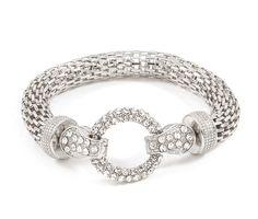 Crystal Taylor Bracelet in Silver