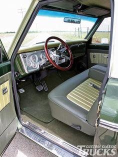 1972 Chevy C10 Interior