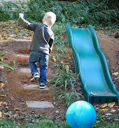 love this natural play space