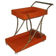Chinoiserie Drinks Trolley