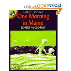 One Morning in Maine blueberries for sal, home libraries, maine, robert mccloskey, pictur puffin, main pictur, travel books, children books, mornings