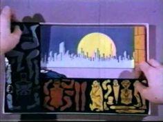 The groovy vintage #Batman Colorforms Retro TV Commercial