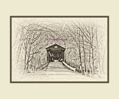 A Place to See  The Huffman Mill Covered Bridge in Perry County, IN