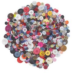 Craft Button Assortment - BLICK art materials- 1 lb. $4.50