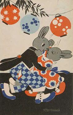 bunnies in the ballroom