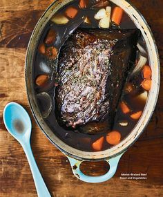 Not sure what to serve for Christmas dinner? Try this Merlot-Braised Beef Roast. Get more delicious recipes like this in our new What to Cook Now Cookbook. #WWLoves