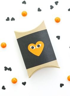 heart face, face box, gift box, crafti stuff, halloween heart, happy days, boxes, box diy, diy projects