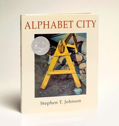 alphabet city - stephen t. johnson