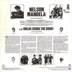 Nelson Mandela Back Cover
