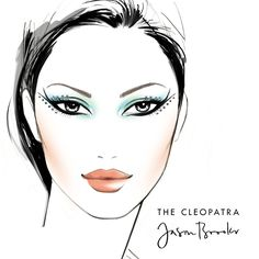 The Cleopatra look for special occasions