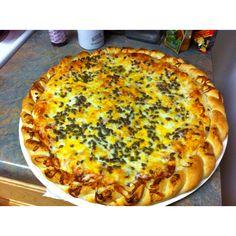 Papa Murphy's stuffed pizza...take and bake! Mmmm