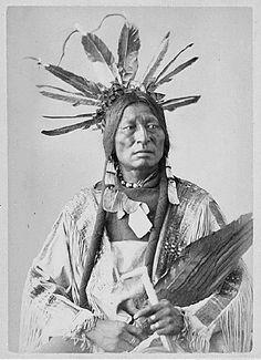 Many Horns ,Yanktonai Sioux Nakota