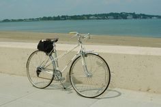 """Mercier Mixte (Suzanne)  used as: an errand bike to keep in my studio, before the vintage Raleigh DL-1 took its place.  specs: 19.5"""" frame; 27"""" wheels; Simplex components"""