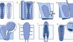 DIY Bag Liner/ Make your Sleeping Bag 10 degrees warmer, but not heavier.....