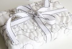 Stitched gift wrap from Alisa Burke